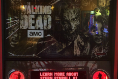 Walking Dead Pinball at Melt