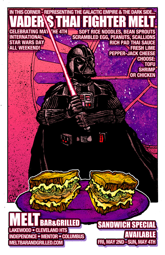 Melt May the 4th 2014 Special Poster