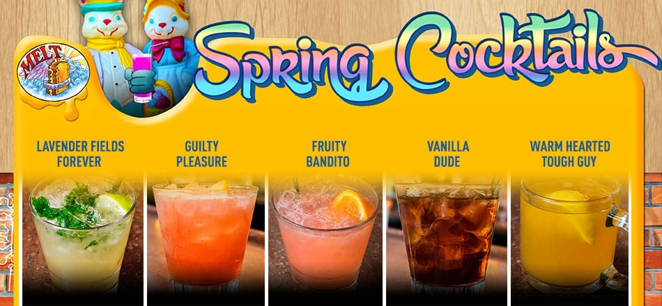 New Spring Cocktail Menu Arrives in March!