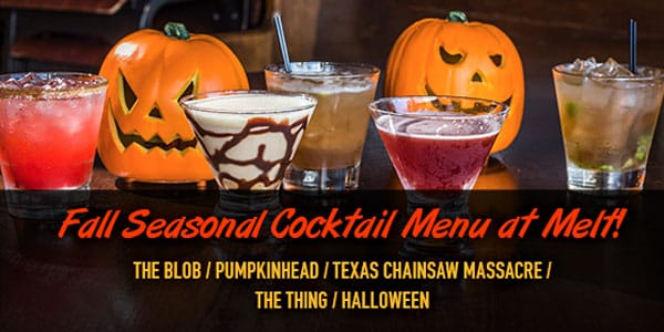 Fall Seasonal Cocktail Menu