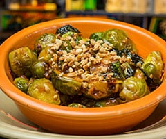 Kung Pow Brussels Sprouts
