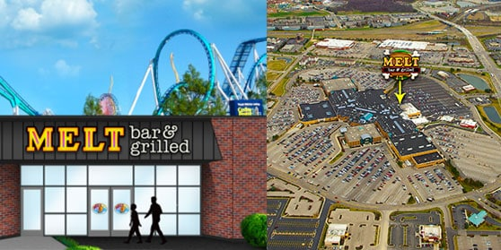 Melt Opening in Cedar Point and Dayton