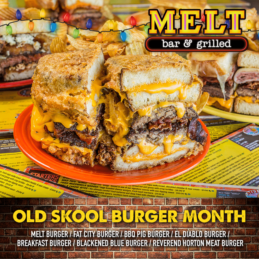Old Skool Burger Month