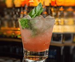 Rose Colored Gimlet