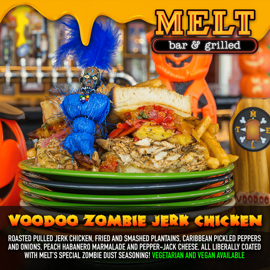 Voodoo Zombie Jerk Chicken