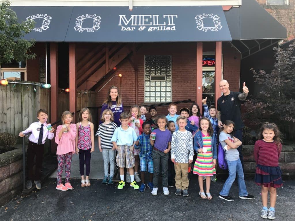 Lincoln Elementary School at Melt Bar and Grilled