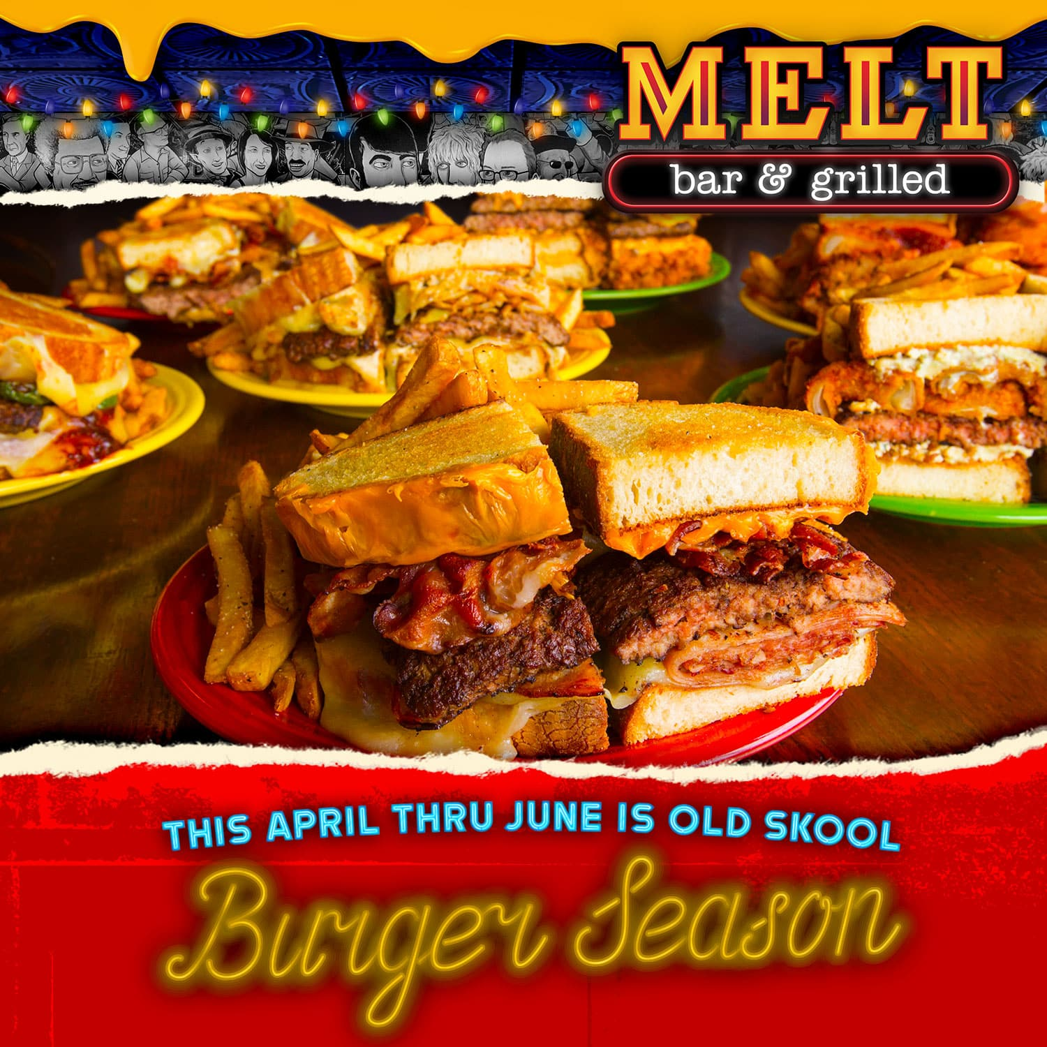 Old Skool Burger Season
