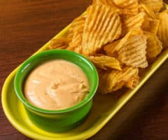 Buffalo Cheese Dip & Chips