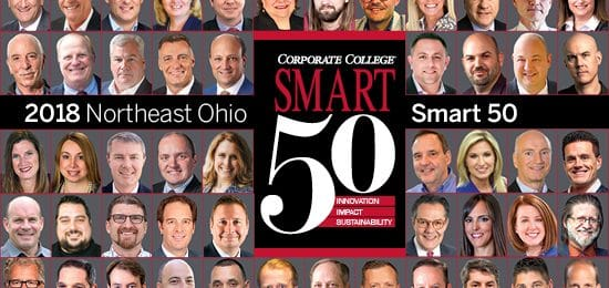Melt Owner/Founder Matt Fish Wins '2018 Corporate College Smart 50 Award' by Smart Business