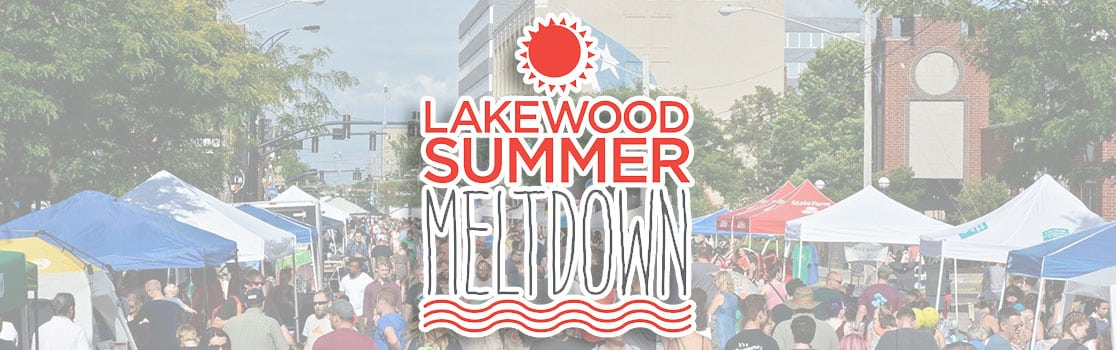 Lakewood Summer Meltdown - Saturday, July 14th