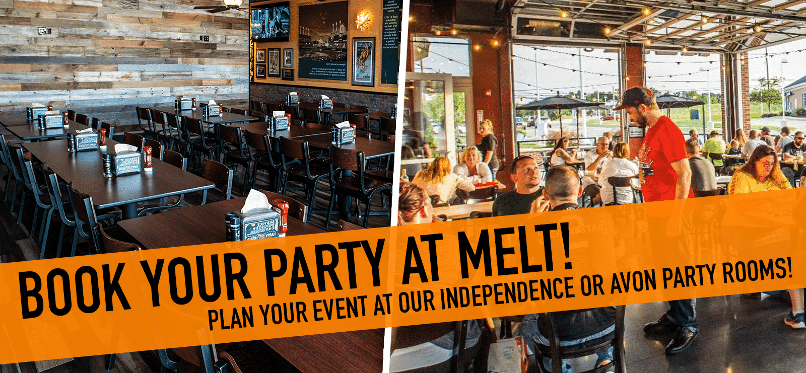 Book Your Party at Melt