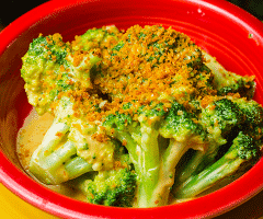 Cheesy Cheddar Broccoli