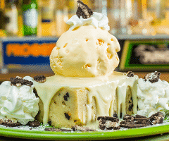Cookies & Cream Bread Pudding