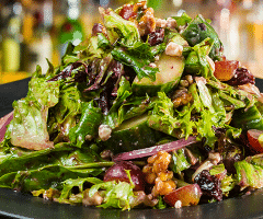 Green, Red & Blue Salad