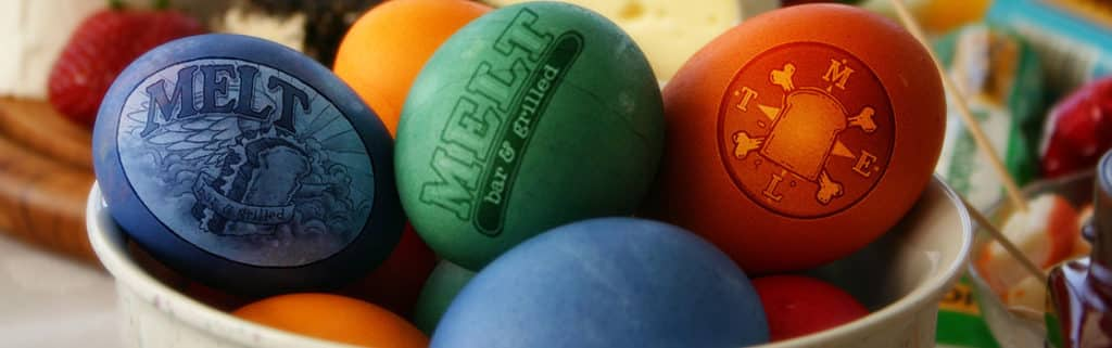 All Melt Locations CLOSED on Easter Sunday, April 21st