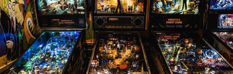 Pinball and Arcade Room