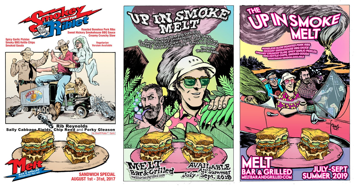 Up in Smoke John G Posters