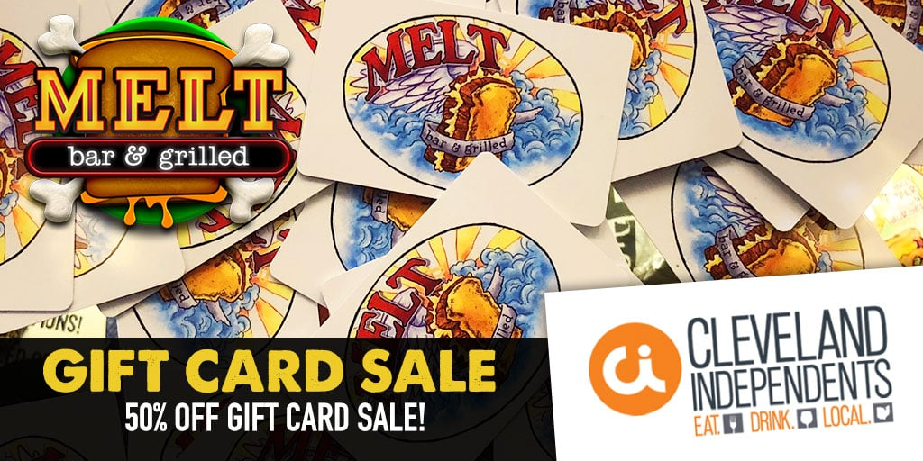 Cleveland Independents Half Off Gift Card Sale
