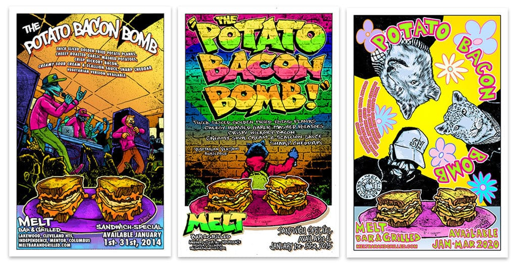 Potato Bacon Bomb John G Posters