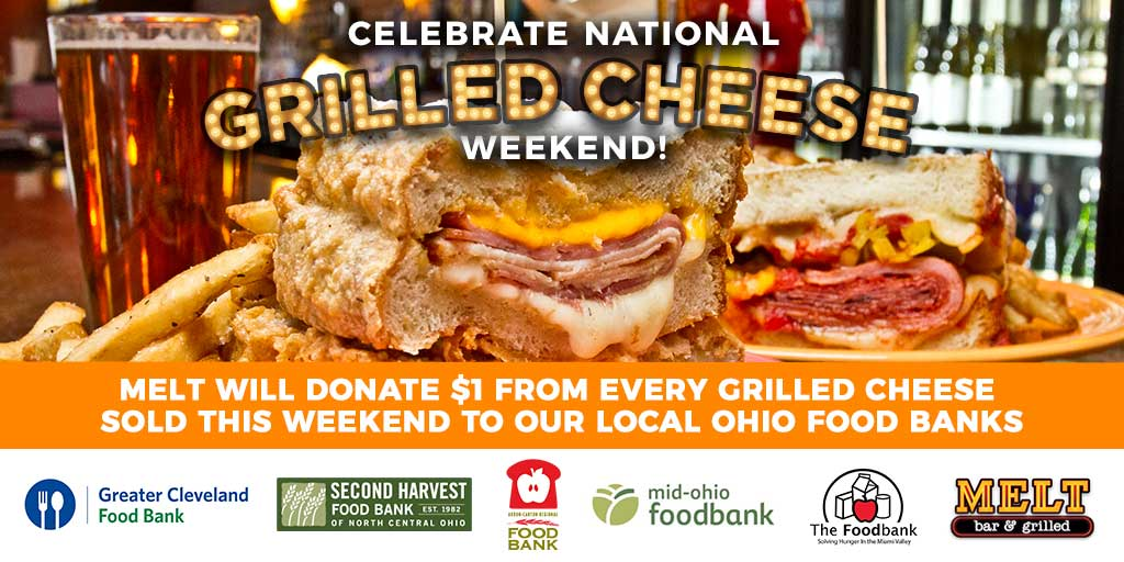 Celebrate National Grilled Cheese Weekend With Melt!