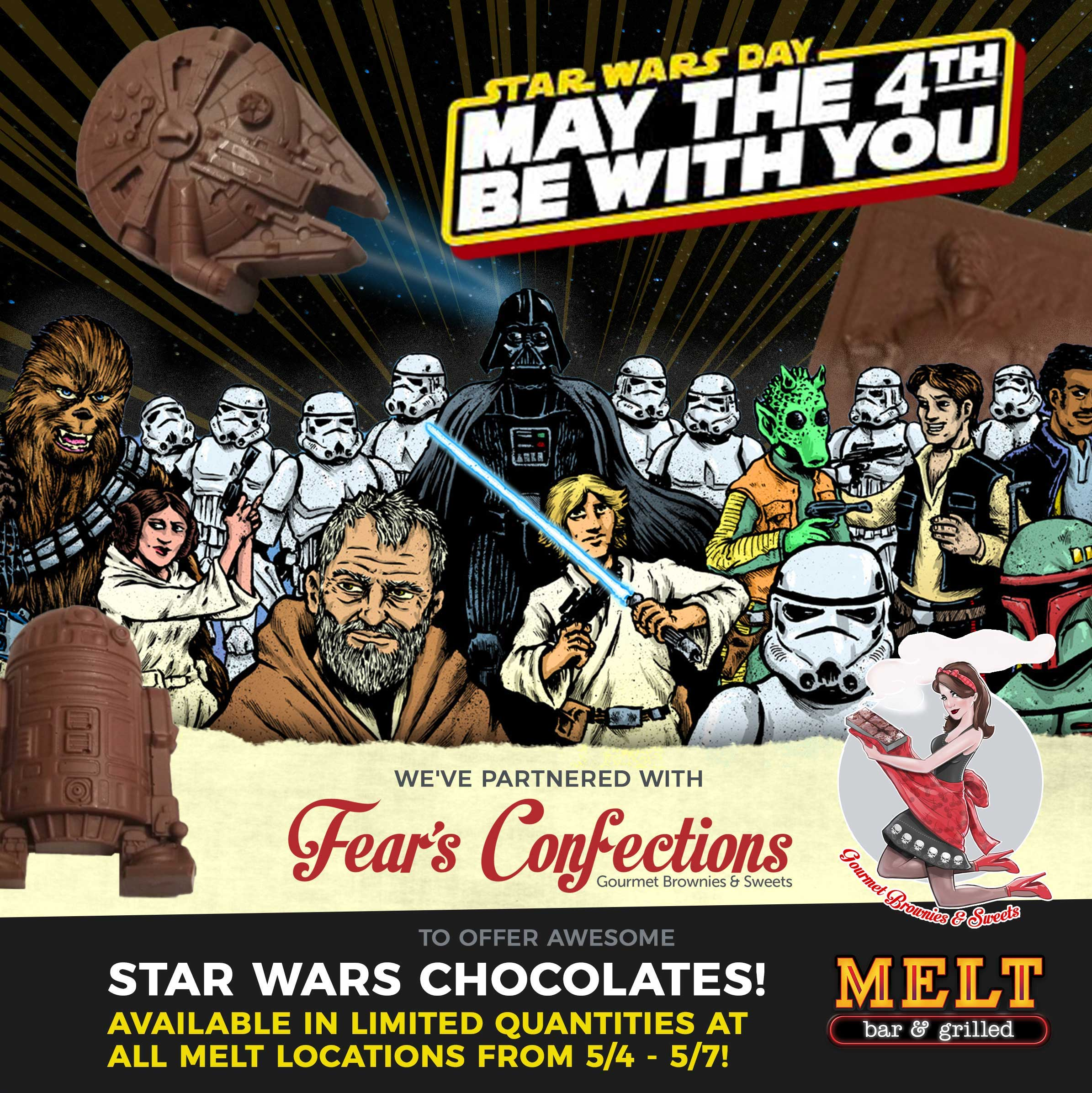 Special Star Wars Chocolates from Fear's Confections - 5/4 – 5/7!