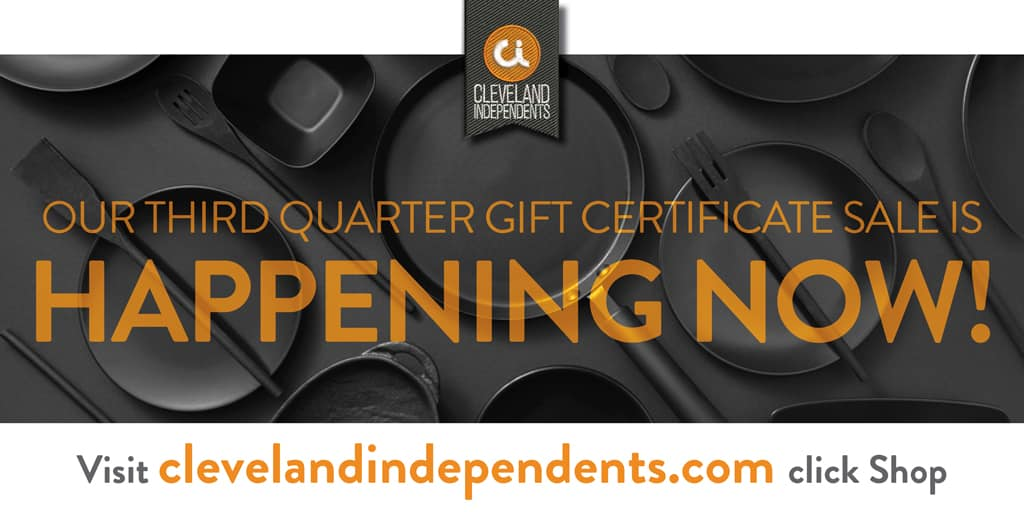 Melt Gift Cards Available From Cleveland Independents