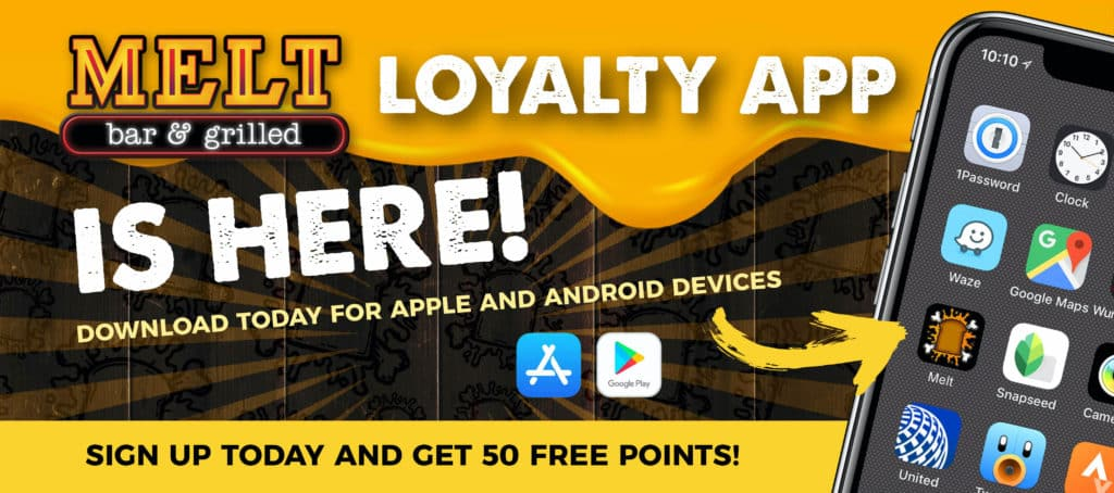 The new Melt loyalty app is here!