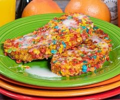 Breakfast Cereal French Toast