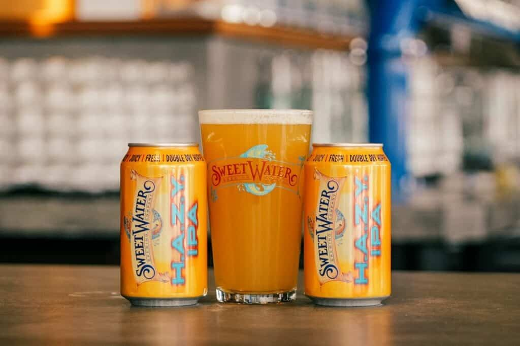 Sweetwater Brewing H.A.Z.Y. IPA Pint Glass Giveaway