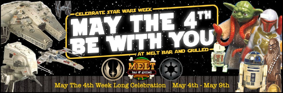May the Fourth Be With You for Star Wars Celebration Week!