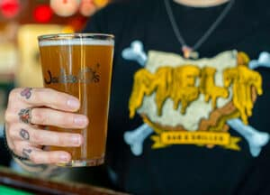 Jackie O's Brewing 'Who Cooks For You' Glass Giveaway!