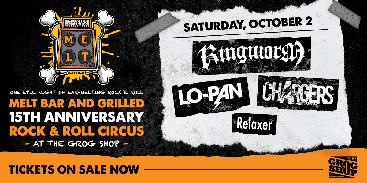 Melt Bar and Grilled 15th Anniversary Rock & Roll Circus
