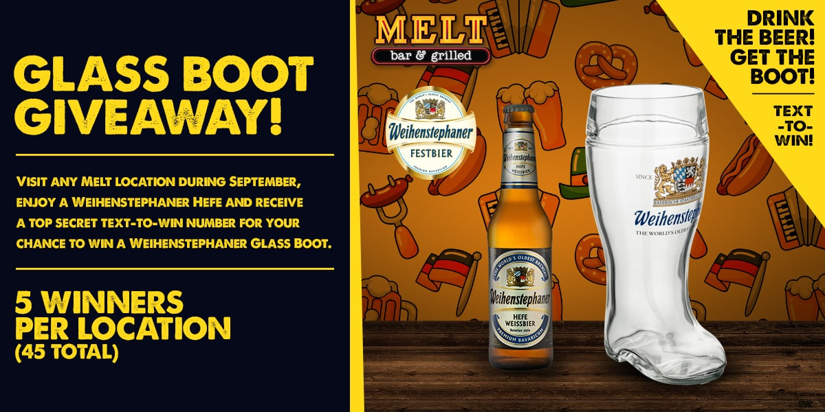 Weihenstephan Brewery Glass Boot Giveaway