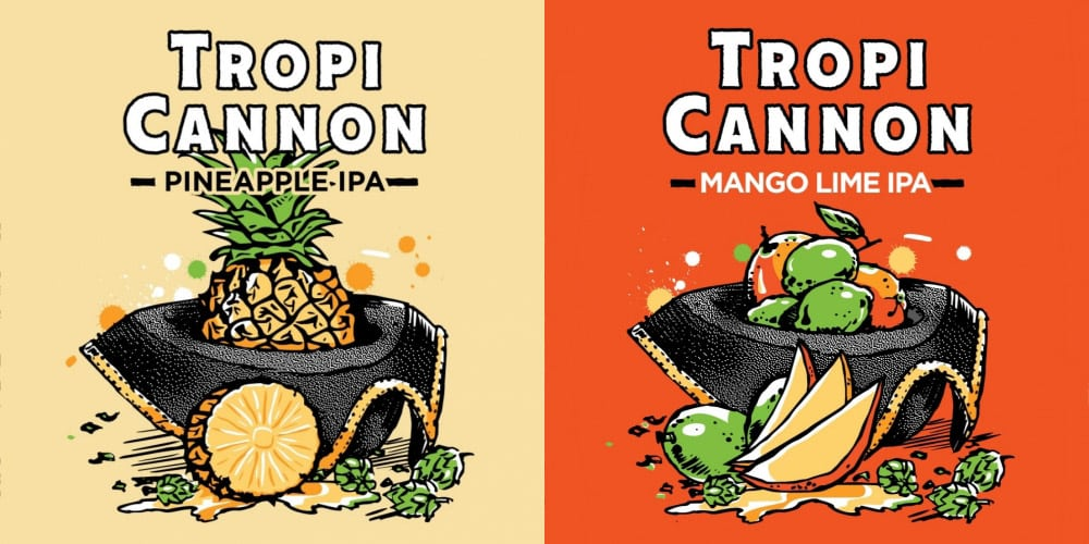 Two New Very Limited Heavy Seas Brewing TropiCannon Flavors coming in August!